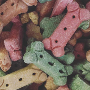 dog treat colors