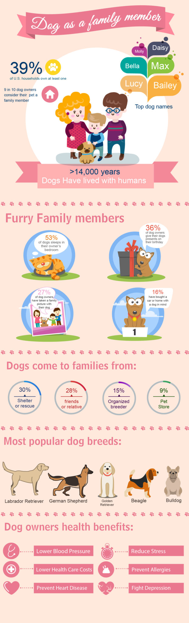 dog as a family member